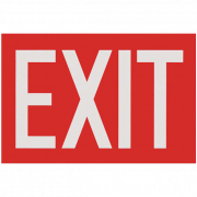 Exit Signs and Directional Arrows