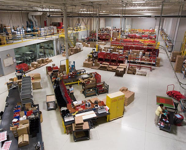 Moves into 60,000 sq ft facility