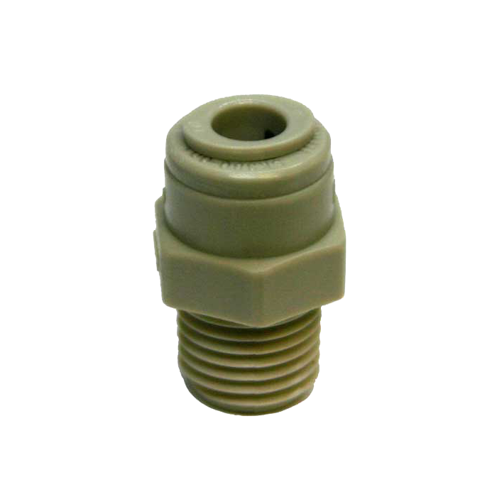 Connector Plastic 1/4 Tube X 1/4 mpt