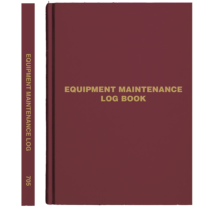 Equipment Log Book, English