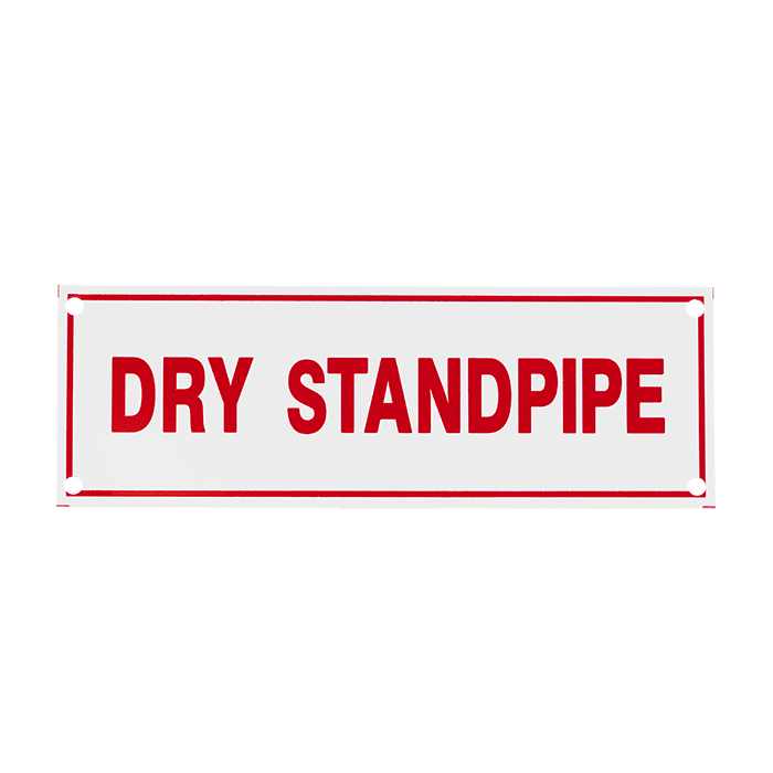 Dry Standpipe, 6\