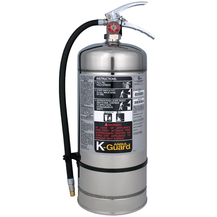 6L Ansul K-Guard Class K w/ wall hook