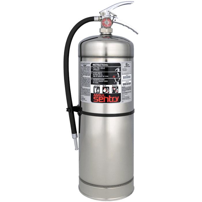 2.5 Gal. Pyro-Chem Pressure Water w/ wall hook