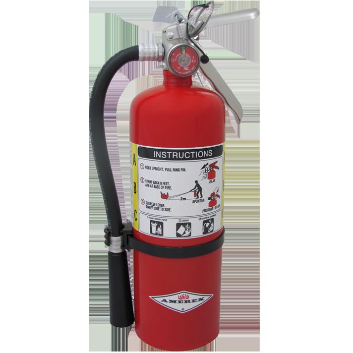 5 Lb Abc W Wall Hanger Steel Fire Equipment