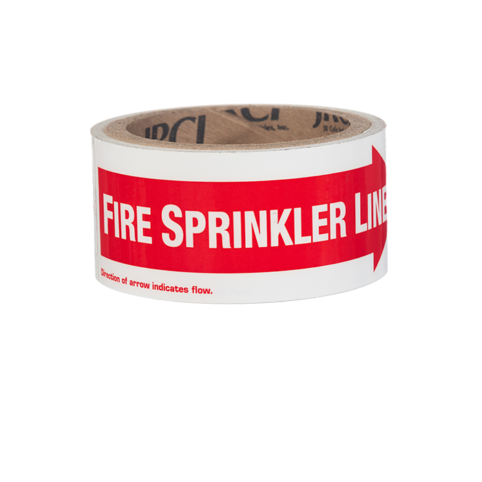 Sprinkler identification signs steel fire equipment