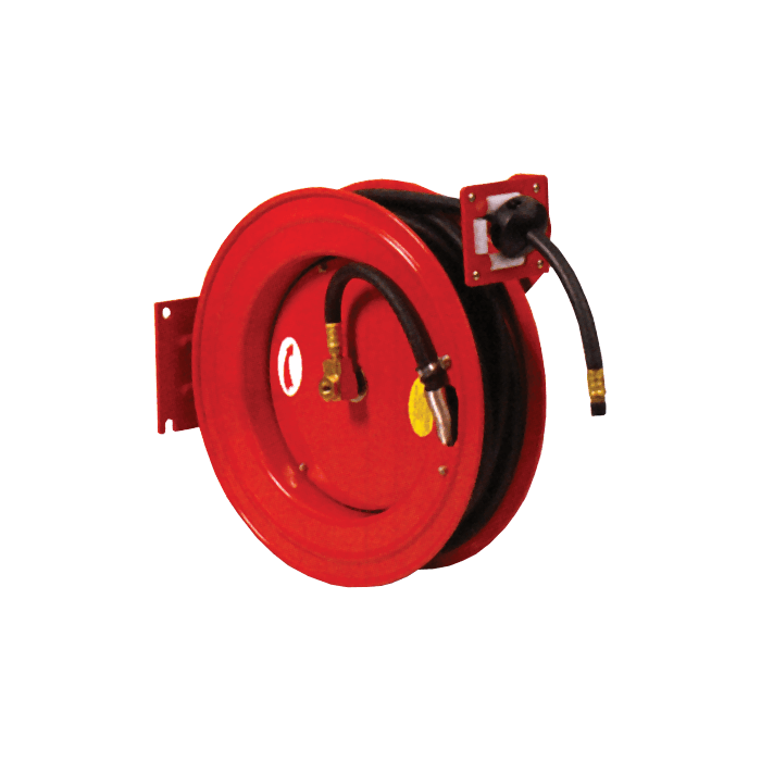 Air Hose Reel, 49 ft Hose