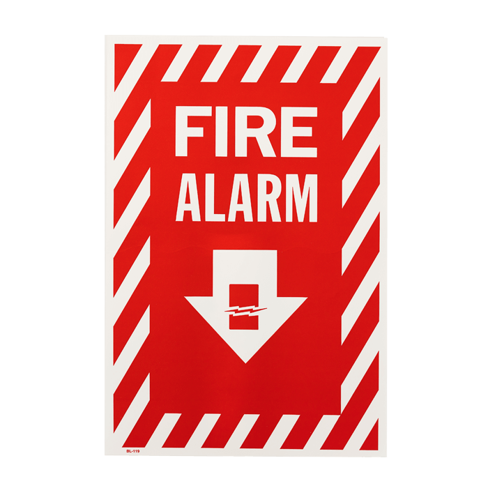 """Fire Alarm"" Arrow, 8\"