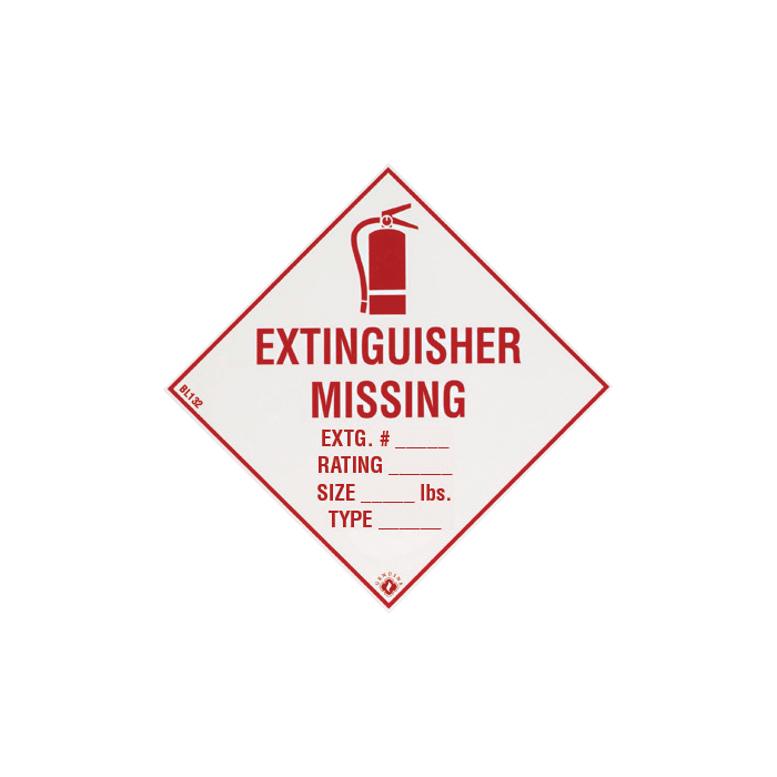 Fire Extinguisher Missing, 4\