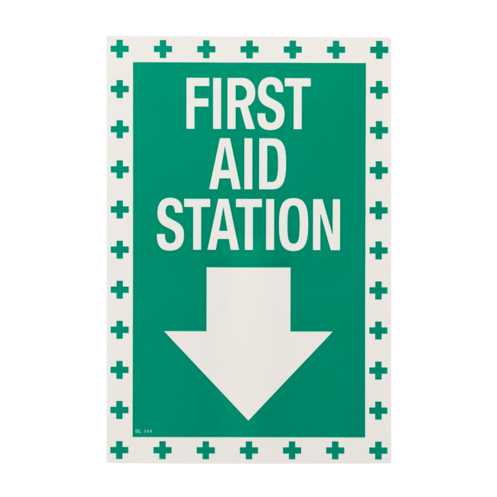 """First Aid Station"", 8\"
