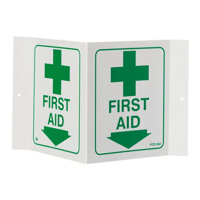 """First Aid"" Arrow, 5\"