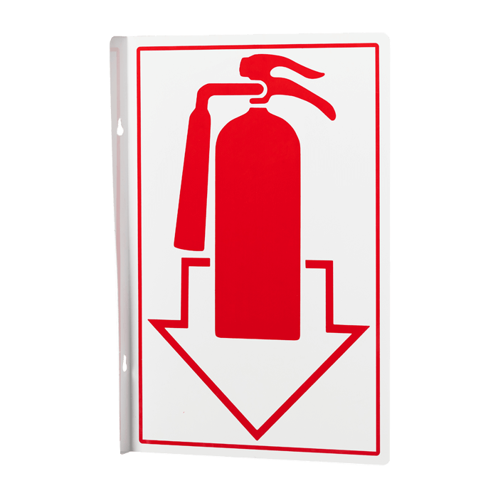 Fire Extinguisher Pictorial Arrow, 8\