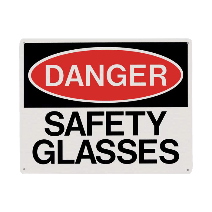 Danger Safety Glasses