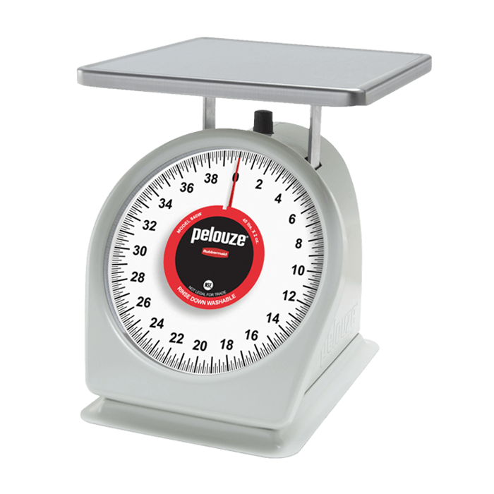 40 lbs x 2 oz Adjustable Spring Dial Scale