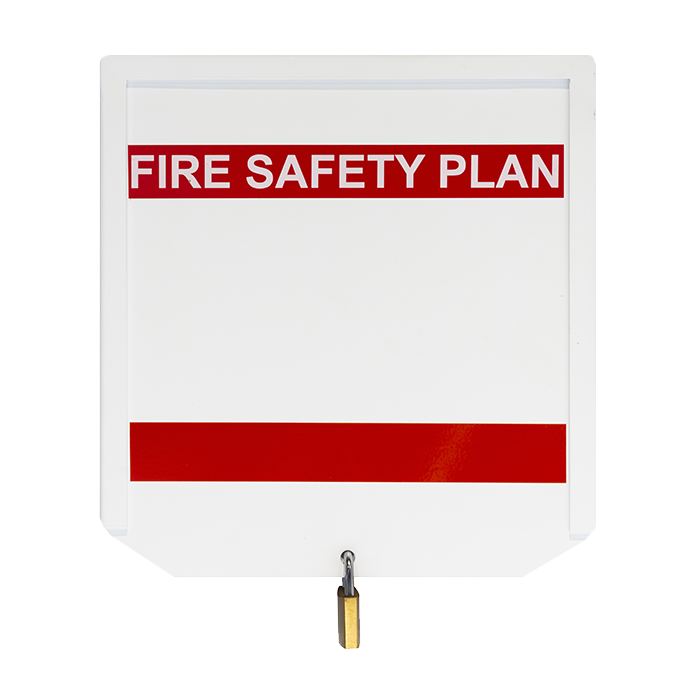 12-Guage Steel Heavy Duty Fire Safety Plan Box