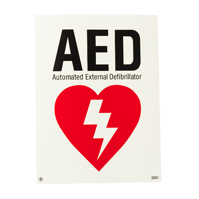 AED Automated External Defibrillator, 6\