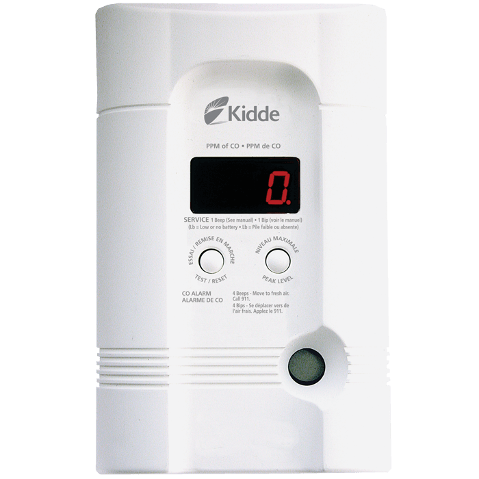 Plug-in CO/Explosive Gas Alarm w/Battery Backup