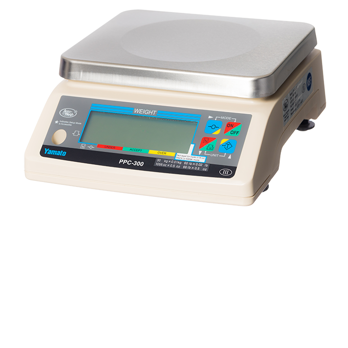 60 lb x 0.02 lb Digital Scale (4 D-Cell)