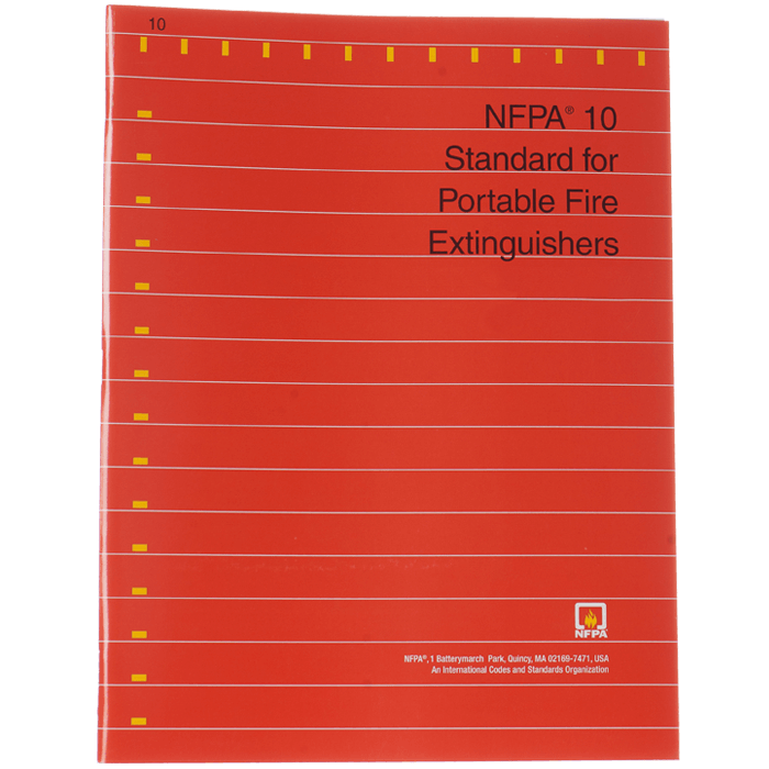 NFPA 10: Standard for Portable Fire Extinguishers, 2018 ed.