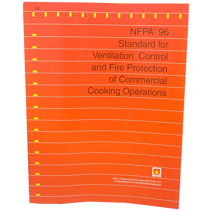 Standard for Ventilation Control & Fire Protection of Commercial Cooking Operations
