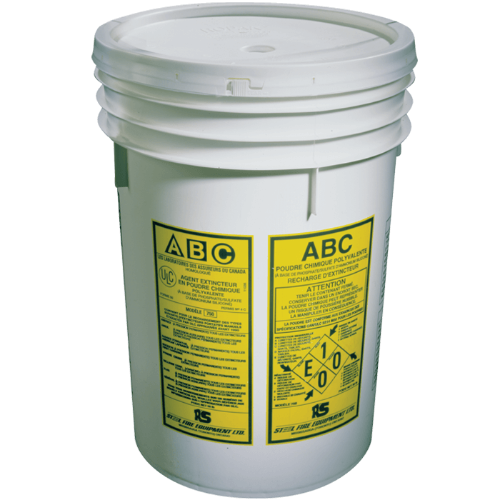 ULC Classified ABC Dry Chemical, 45 lb Pail
