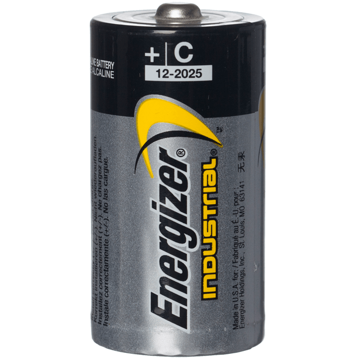 C Alkaline Battery, Energizer Industrial