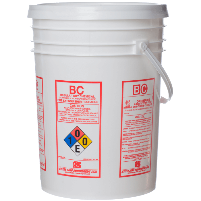 ULC Classified Regular (BC) Dry Chemical, 50 lb Pail