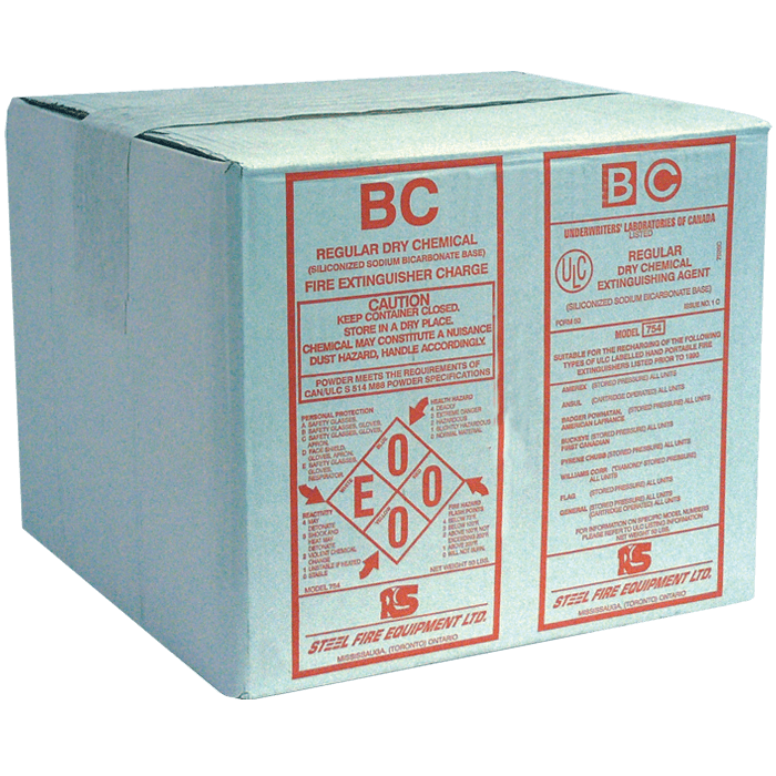 ULC Classified Regular (BC) Dry Chemical, 50 lb Carton