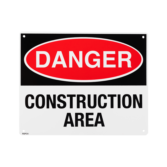 Danger Construction Area, 10\