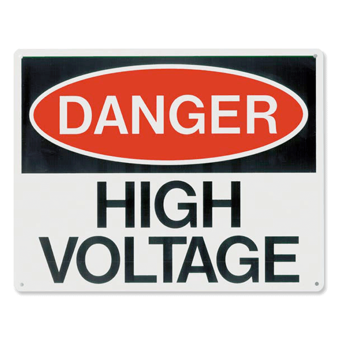 Danger High Voltage, 10\