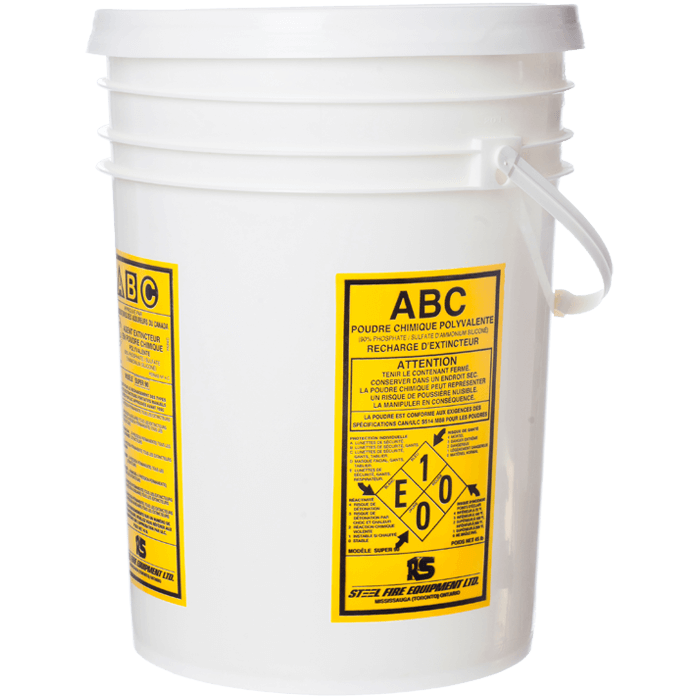 ULC Classified High Performance ABC Dry Chemical, 45 lb Pail