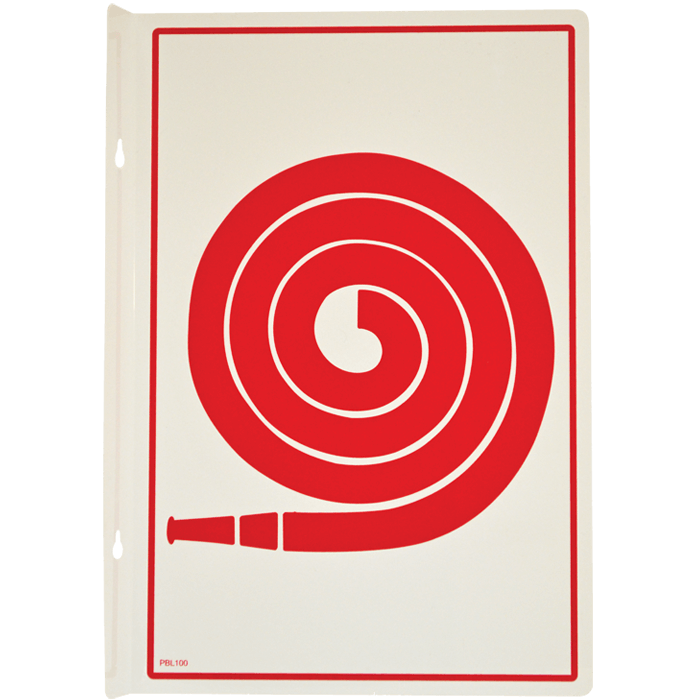 Fire Hose Pictogram