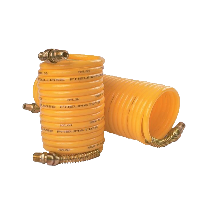 Coiled Air Hose, 12 ft